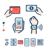 cashless_various payment methods