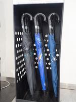 駅に設置されたレンタル傘