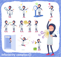 flat type Arab women White Sportswear_complex