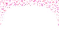 春 水玉 ピンク 背景