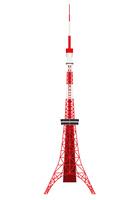 東京タワー 日本 電波塔 アイコン