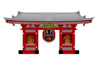 雷門 東京 日本 アイコン