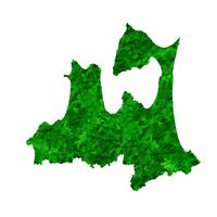 青森 地図 緑 アイコン