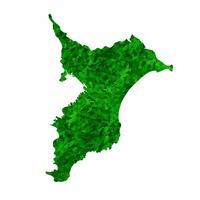千葉 地図 緑 アイコン