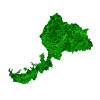 福井 地図 緑 アイコン