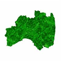 福島 地図 緑 アイコン