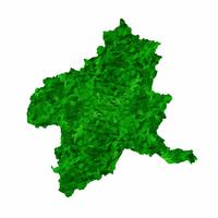 群馬 地図 緑 アイコン