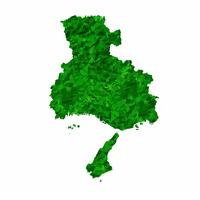 兵庫 地図 緑 アイコン