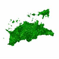 香川 地図 緑 アイコン