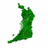 大阪 地図 緑 アイコン