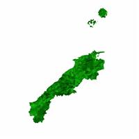 島根 地図 緑 アイコン