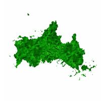 山口 地図 緑 アイコン