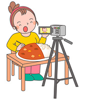 大食い動画配信