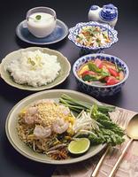 タイ料理食卓