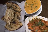 アスパラガスのマサラ風味とヴェジタブルカレー