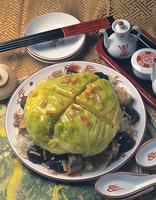 キャベツの丸ごと中華煮