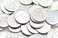 たくさんの百円玉