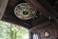 櫛田神社 楼門の恵方盤