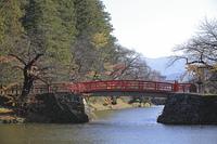 米沢城 本丸水堀 菱門橋
