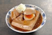 肉豆腐と煮玉子