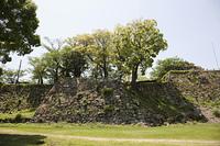洲本城の石垣