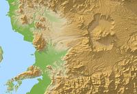 阿蘇山の地形