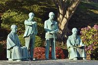四天王像・元町公園