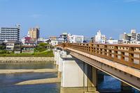 後楽園への蓬莱橋