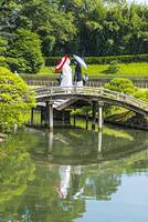 岡山後楽園での婚礼