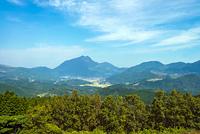 湯布院と九重連山(久住連山)