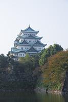 名古屋城の外濠と天守閣