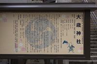 大歳神社参道の由緒
