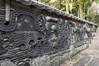 聖福寺の鬼塀
