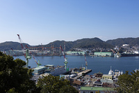 長崎港と造船所