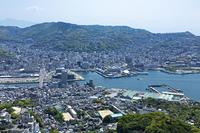 稲佐山からの長崎港