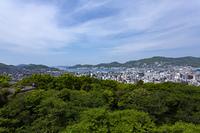 風頭公園からの長崎港