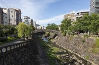 中島川と編笠橋