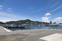長崎港と稲佐山