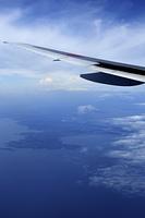 上空から見た三浦半島
