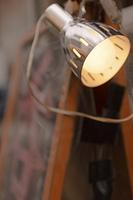 店先のランプ