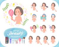 flat type nude women_beauty