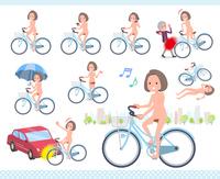 flat type nude women_city cycle