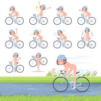 flat type nude women_road bike