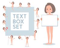 flat type nude women_text box