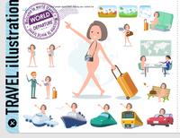 flat type nude women_travel