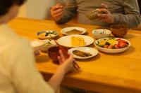 シニア夫婦 夕食