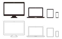 パソコン、タブレット、スマートフォンのシン
