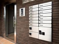 集合住宅の玄関