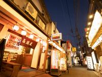 東京都 北千住の飲み屋街