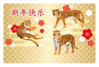 新年快乐 中国新年挨拶